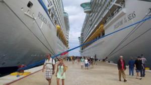 two big ships